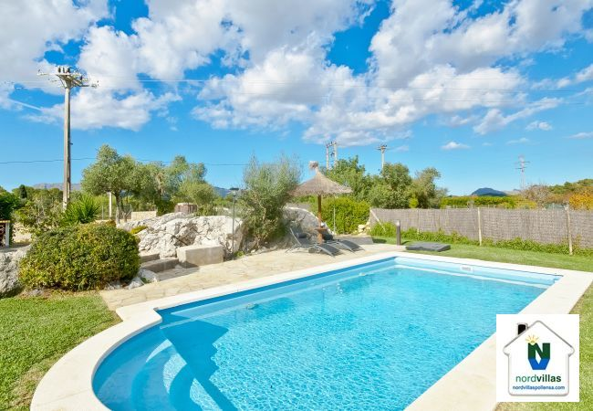 Pool, garden and views